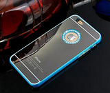 iPhone 6 Plus - Exquisite Mirrored Logo Bling Case in Assorted Colors
