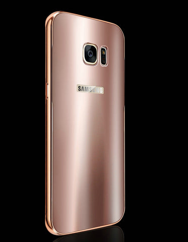 Galaxy S7/S7 Edge - To-Die-For Elegance in a Sleek Metallic Shine Case in Assorted Colors