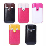 iPhone 6/6S Plus, 6/6S - Hot, 2-Color Pouch With Card Holder in Assorted Colors