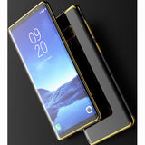 Galaxy Note 9, 8 - Glossy Polished Slimline Case (optional tempered glass) in Assorted Colors