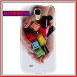 Galaxy S4 *RED TAG* -Glossy, Colorful Nail Polish Bottles Soft Case