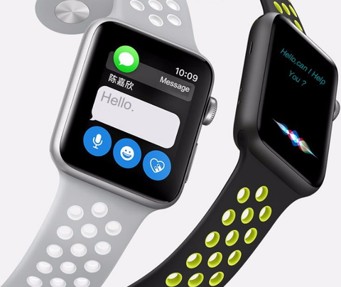Apple Watch - Snappy Dual-Color Sports Bands in Assorted Colors