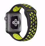 Apple Watch - Snappy Dual-Color Sports Bands in 2 sizes, Assorted Colors