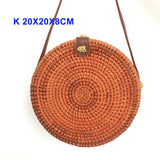 Women's Summer Rattan Cross Body Bag
