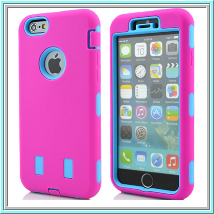 iPhone 6 - Attractive, Rugged Dual Layer Case in Assorted Colors