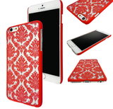 iPhone 7 Plus, 7, 6/6S /Plus,  SE-5/5S - Damask Lace Case in Assorted Colors