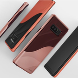 Galaxy Note 8 - Form Fitting Wave-Inspired Dual Color Case in Assorted Colors