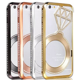 iPhone 6, 6 Plus - Shimmering Bling Ring Frame Case in Assorted Colors