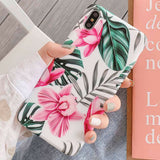iPhone XS Max, XR, 8 Plus/8, 7 Plus/7, 6S Plus/6S - Cool Summer Art Case in Assorted Colors