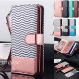 iPhone 8 Plus, 8, 7 Plus, 7 - Handy Removable Wallet Wristlet Case in Assorted Colors
