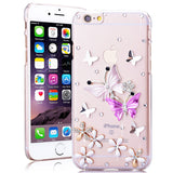 iPhone X, 8/Plus, 7/Plus, 6S/Plus - Stunning Crystal Embellished Case in Assorted Colors