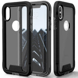 iPhone XS Max, XS/X, XR, 8 Plus - Rugged Multi-Layer Protection Case in Assorted Colors