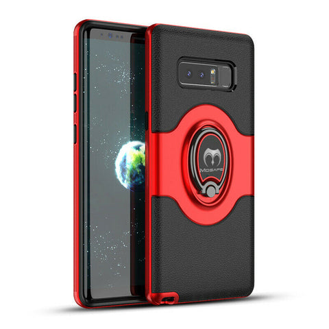 Galaxy S10 Plus/S10, S9 Plus/S9, S8 Plus/S8, Note 8 - Attractive Ring Holder Case in Assorted Colors