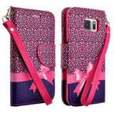 Galaxy S7/S7 Edge, S6/S6 Edge - Artistic Design Clutch Case in Assorted Colors