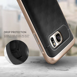 Galaxy S7, S7 Edge - Stunning Armor, Rugged Geometric Case in Assorted Colors