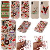iPhone 7 Plus, 7, 6/S Plus, 6/S, SE - Sparkling Cheerful Christmas Case in Assorted Designs