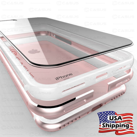 iPhone 8 Plus, 8, 7 Plus, 7 - Fabulous, Lightweight Clear Protection in Assorted Colors
