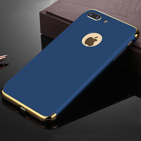 iPhone X - Smart, Thin, Sleek Case With Elegant Border in Assorted Colors