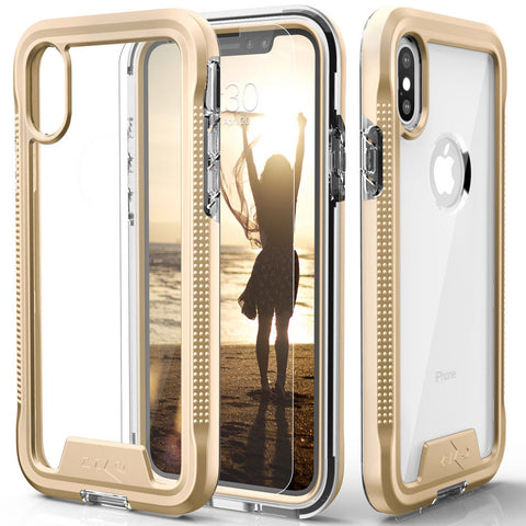 iPhone XS Max, XS, X, XR, 8 Plus - Rugged Multi-Layer Protection Case in Assorted Colors