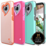 Galaxy S8, S8 Plus - All-About-Love, Dual Layer Case in Assorted Colors
