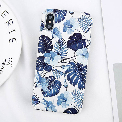 iPhone X, 8 Plus/8, 7 Plus/7, 6S Plus/6S - Modern Summer Graphic Designs in Assorted Colors