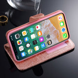 "iPhone X, XS, XS Max, XR, 8 Plus/8, 7 Plus/7, 6S Plus/6S - ""Heart Me Forever"" Wallet Case in Assorted Colors"