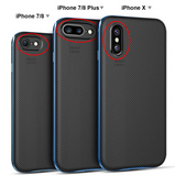 iPhone X, 8 Plus/8, 7 Plus/7 - Slim, Protective, Gorgeous Textured Back in 3 Colors