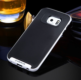 Galaxy S7/S7 Edge - Classy Non-Slip Swirl Back Surface in Assorted Frame Colors