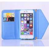 iPhone 6 Plus, 6, 5/5S - Dreamy Pastel Tie Dye Wallet Case in Assorted Colors