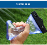 "All Phone Models Up to 6"" - Waterproof Case"