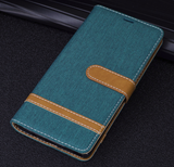 Galaxy Note 8 - Attractive Wallet Card-Holder Case with Contrasting Tab in Assorted Colors