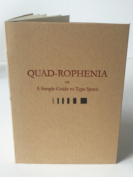 Quad-rophenia Guide to Type Spacing