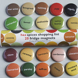 Spice Magnets
