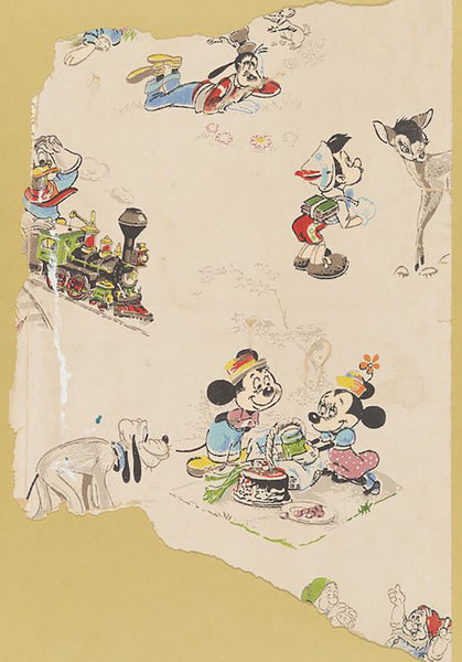 Vintage Disney Mickey And Minnie Mouse Wallpaper