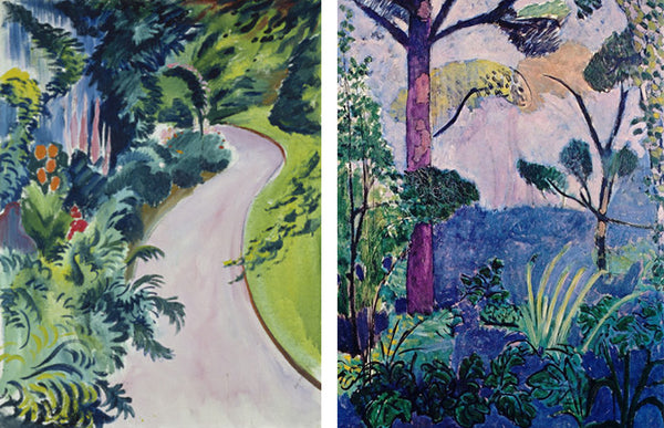 August Macke and Henri Matisse garden paintings from Painting the Modern Garden exhibition