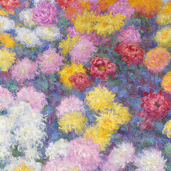 Monet Crysanthemums Painting