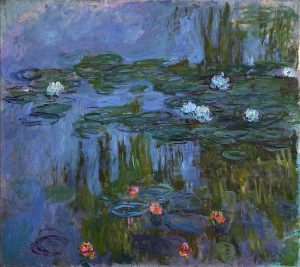 Monet Water lilies painting from Painting the Modern Garden exhibition