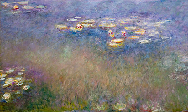 Monet Water Lilies Grandes Décorations painting from Painting the Modern Garden Exhibition