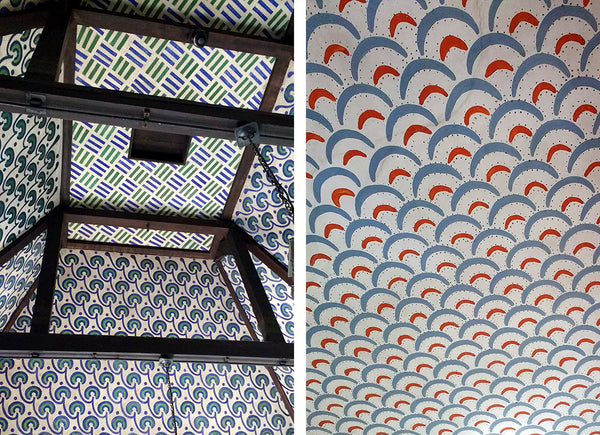William Morris - The Red House ceilings