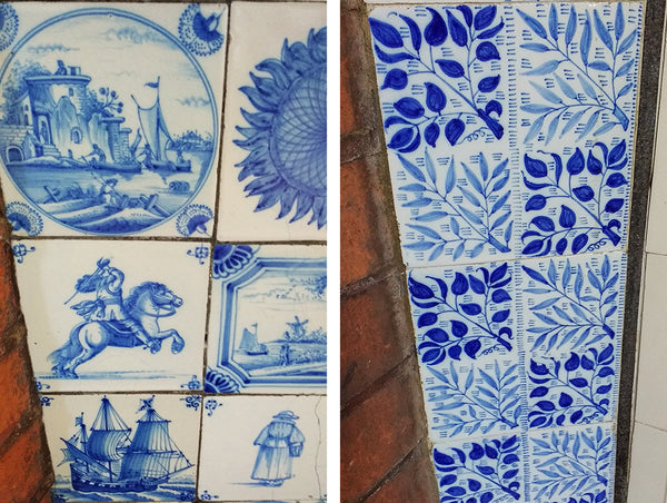 William Morris - The Red House painted tiles