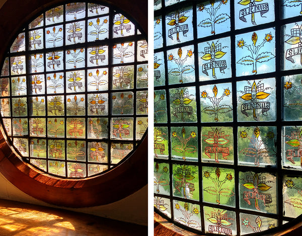William Morris - The Red House painted glass