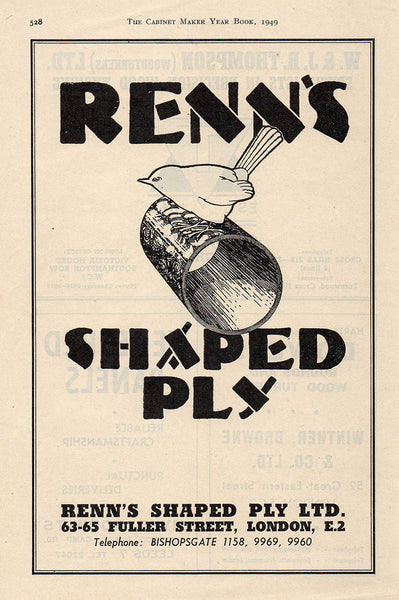 Renn's Shaped Ply logo