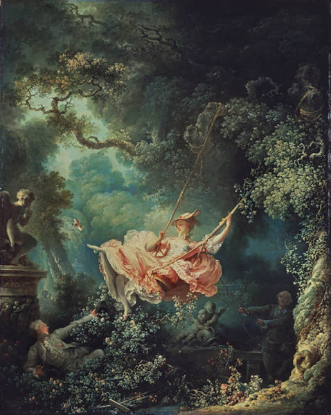 The Swing, Painting by Jean-Honoré Fragonard at The Wallace Collcetion