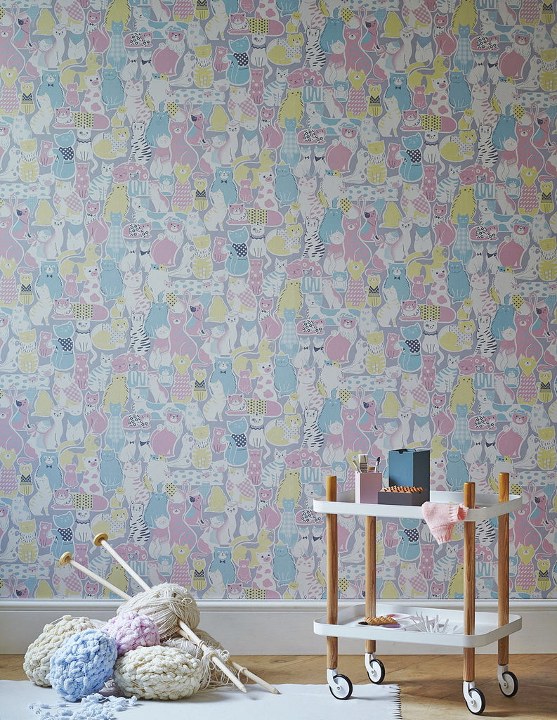 CATS Wallpaper - Pastel