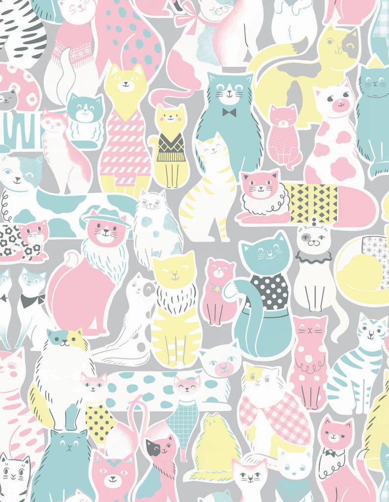 CATS Wallpaper Sample - Pastel