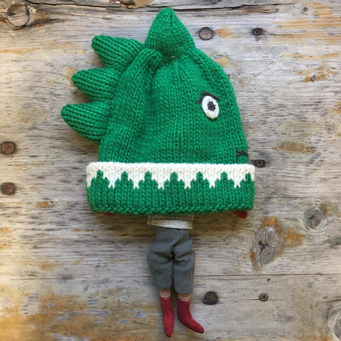 joules dinosaur knitted hat