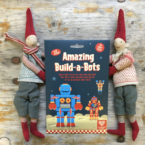 amazing build-a-bots by clockwork soldier