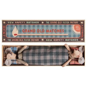 Maileg - Grandma and Grandpa Mice in matchbox