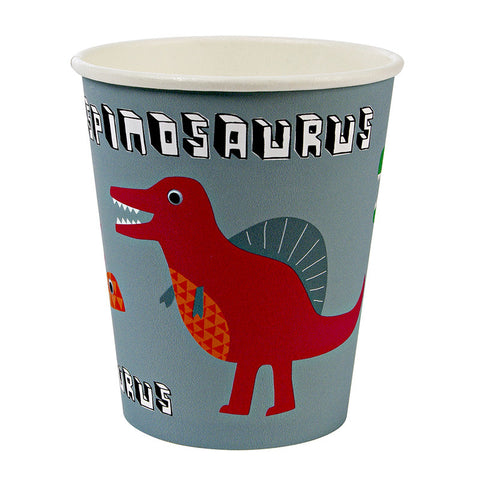 Meri Meri Dinosaur Party Cups for Dinosaur Party