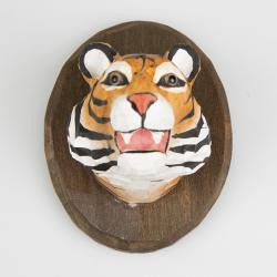 Tiger Safari Wooden Wall Decoration